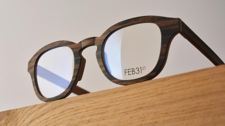 feb31 occhiali in legno