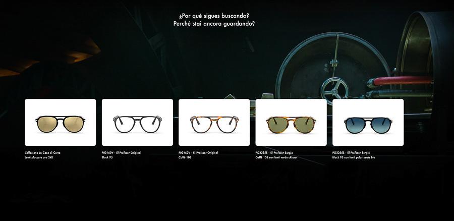 collezione occhiali Persol la casa de papel